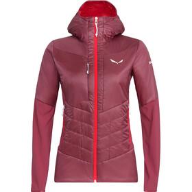 Salewa Ortles Hybrid TW CLT Jacket Women red plum
